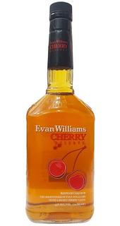 Dia Del Padre Whiskey Evan Williams Cherry Reserve Litro
