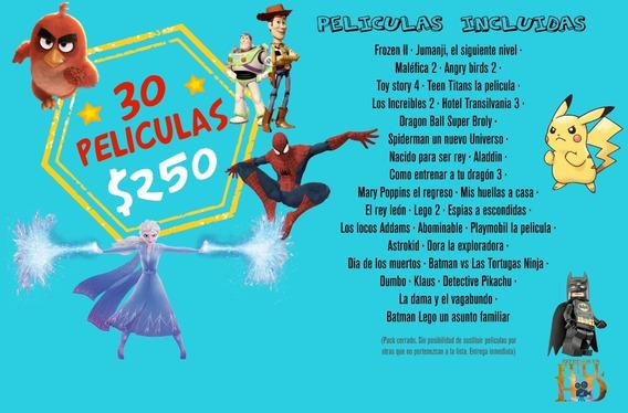 Pack X 30 Poster Peliculas Animadas Fullhd