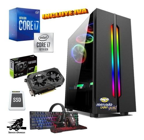 Cpu Gamer Intel Core I7 10ma/1tb+ssd 480gb 16gb Gtx1660s 6gb