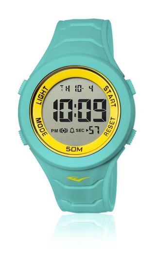 Relógio Everlast Digital Unissex Cx E Pulseira Silicone E718