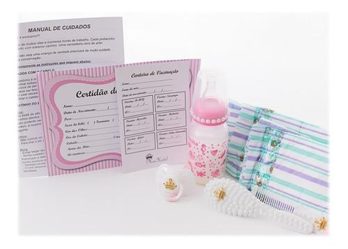 Kit Maternidade Enxoval Bebê Reborn - 10 Itens