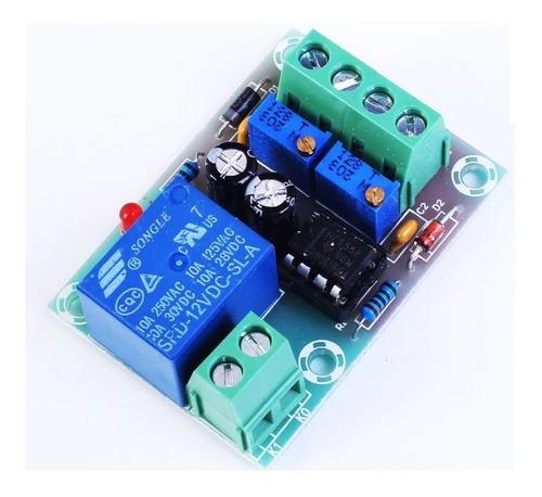 Controlador De Carga De Bateria Xh-m601