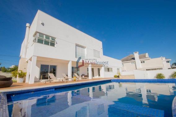 Casa Com 4 Dormitórios À Venda, 496 M² - Alphaville Graciosa - Pinhais/pr - Ca0087