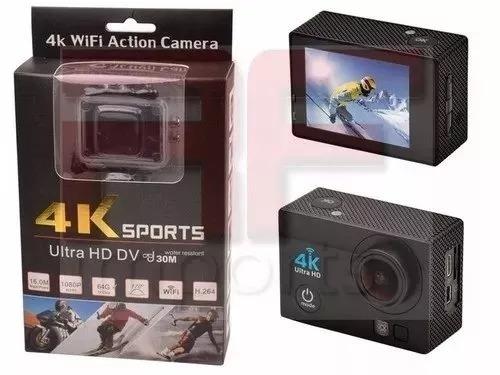 Camera Para Capacete Wifi 4k Prova D`água Bike S/gopro
