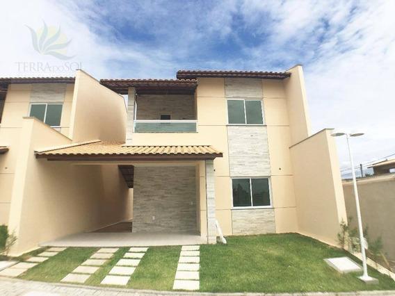 Casa Com 3 Dormitórios À Venda, 150 M² - Cidade Dos Funcionários - Fortaleza/ce - Ca0869