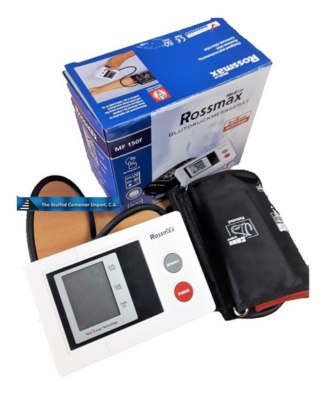 Tensiometro Automatico Con Cable Adaptador 110 / 12v Rossmax