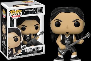 Funko Pop Metallica Robert Trujillo 60