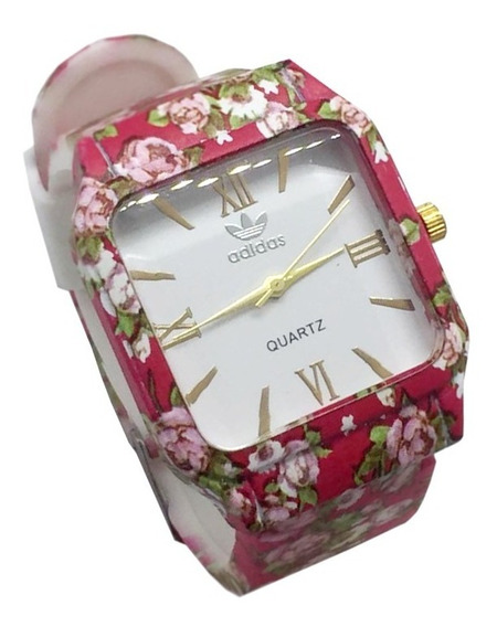 Relógio Feminino Floral adidas