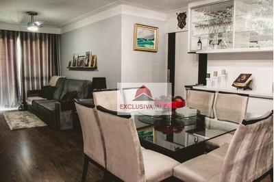 Apartamento Com 3 Dormitórios À Venda, 104 M² Por R$ 700.000 - Urbanova - São José Dos Campos/sp - Ap2279