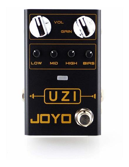 Pedal De Guitarra Joyo Uzi Distortion + Nf + Garantia