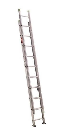 Escalera Aluminio Extension 16 Peldaños Tipo Iii Envio