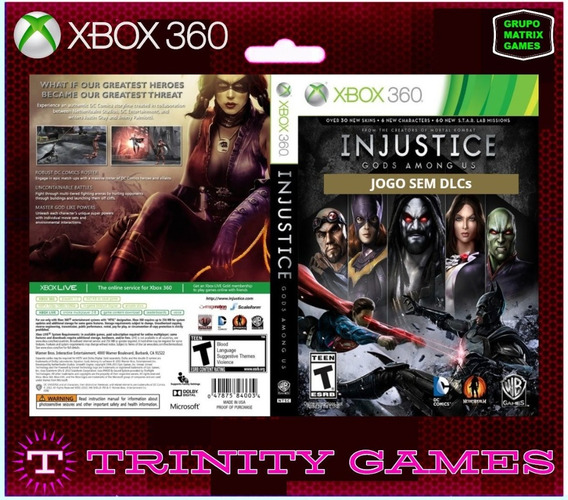 Injustice - God Among Us - Jogo Para Download Da Live Xbox