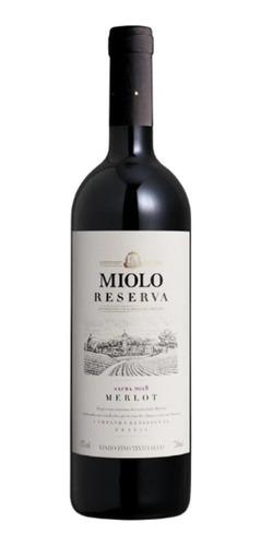 Imagem 1 de 3 de Vinho Miolo Reserva Merlot 750 Ml