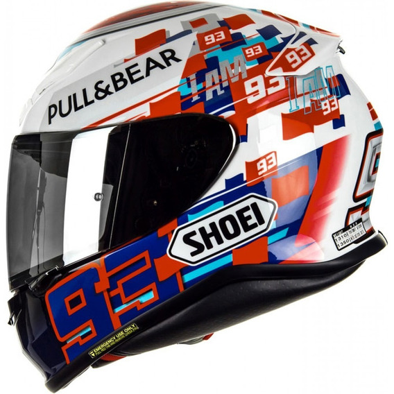 Casco Integral Shoei Nxr Marquez Power Up Tc-1