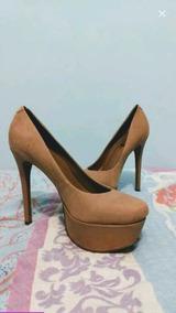 Sapato Arezzo N° 35 Nude