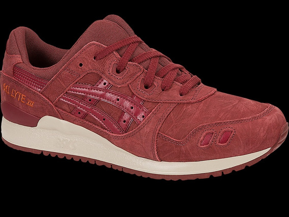 Tenis Asics Tiger Gel-lyte Iii Russet Brown