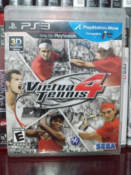 Virtua Tennis 4 Ps3 | Parcelamento Sem Juros