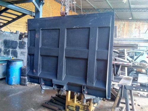 Plataforma Elevatoria Marksell 2000kg Toco Truck Instalada