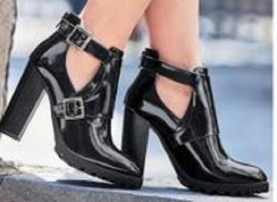 Cklass Botin Tipo Zapato Corto Moderno Comodo Casual Mod.499-81