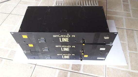 Amplificador Studio R P-line 200w/70v Perfeito Estado Garant