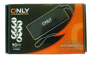 Cargador Notebook Fuente 90w Automat 8 Pines + Lenovo Rect