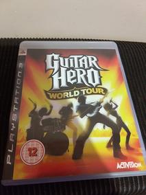 Guitar Hero World Tour Ps3 Mídia Física Original Perfeito