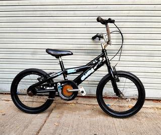 Bicicleta Negra De Paseo Para Nenes Rod.16 Olmo