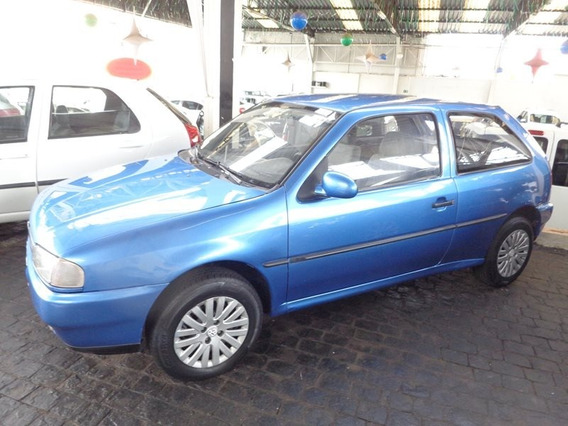 Volkswagen Gol 1.6 Azul 1997