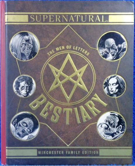 Supernatural The Men Of Letters Bestiary Livro Imp Frete 20,