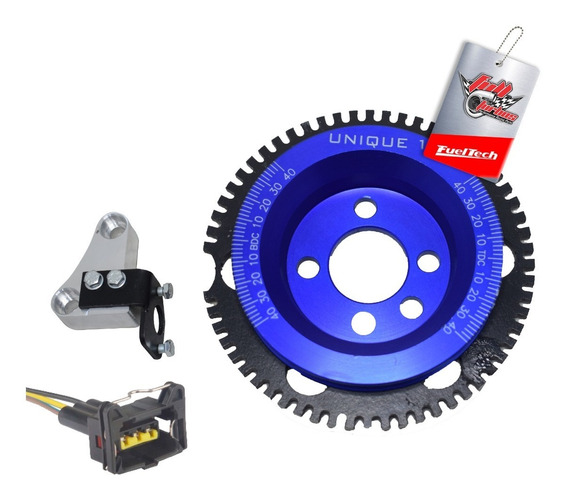 Kit Roda Fônica Ap 8v - Unique - Para Fueltech Ft300 A Ft600