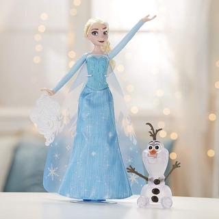 Disney Frozen Muñeca Elsa Y Olaf Con Luces Juguete Niñas