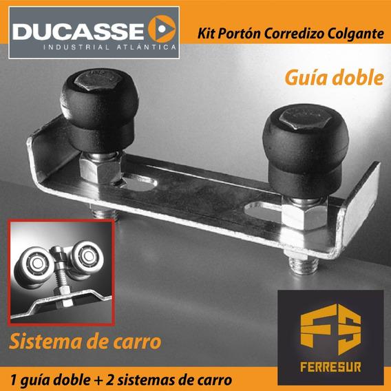 Kit Juego De Accesorios Ducasse De Portón Corredizo Colgante