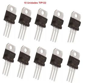 10 Unidades Transistor Tip122