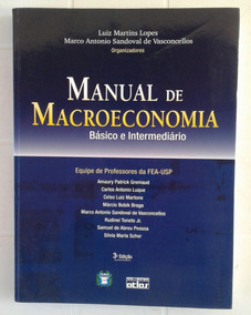 Manual De Macroeconomia Básico E Intermediário Fea-usp