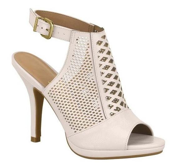 Ankle Boot Sandalia Feminina Vizzano Salto Alto