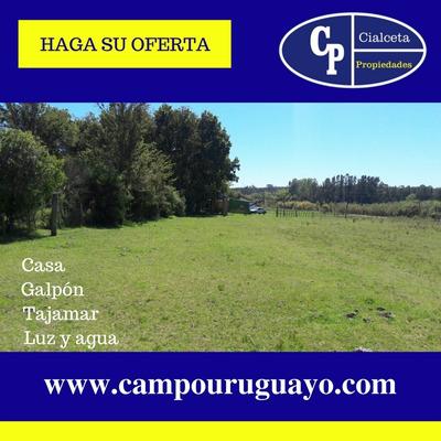 Chacra De 10 Has Con Casa Y Galpon