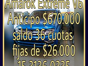 Volkswagen Amarok V6 Extreme Okm Financio $ 600.000 Solo Dni