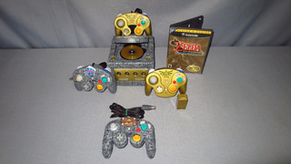 Consola Gamecube Personalizado The Legend Of Zelda