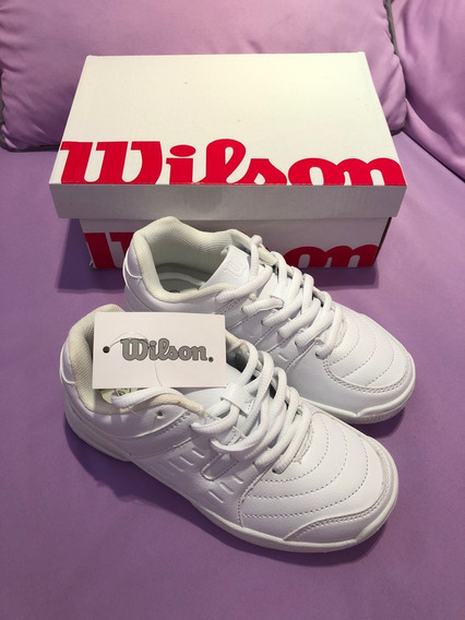 Zapato Deportivo Wilson Para Niños (unisex)