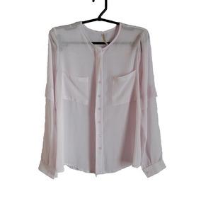 Camisa Cor Doce Tm- M Feminino Seminovo