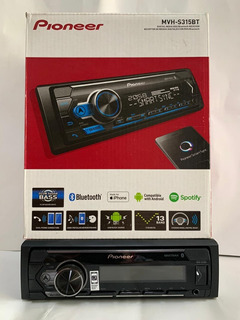 Estereo Pioneer Mvh-s315bt Usb Bt Spotify iPhone Y Android