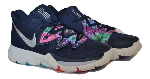 Kp3 Botas Caballeros Nike Kyrie Irving 5 Azul Multicolor