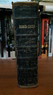 Biblia Vulgata Latina. Biblia Sacra. Antigua. París. 1921