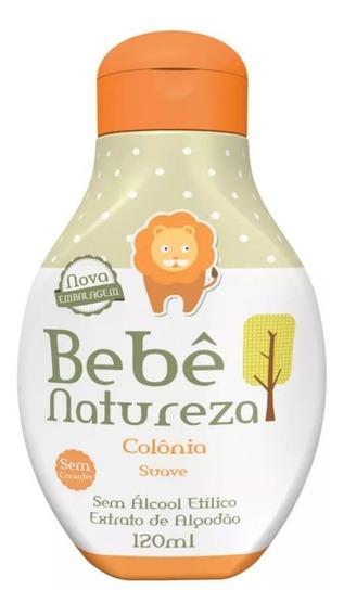 Bebê Natureza Colônia Suave 120ml