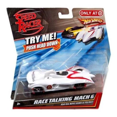 Match 6 - Speed Racer Race Talking Mach 6 Eletrônico Mattel