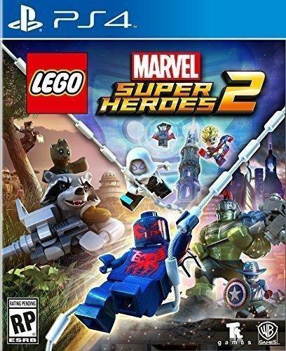 Lego Marvel Super Heroes 2 Ps4 Mídia Física Novo Original