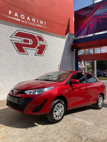 Imagen 1 de 14 de  Toyota Yaris Sedan Core Mt, Mod. 2020, Color Rojo