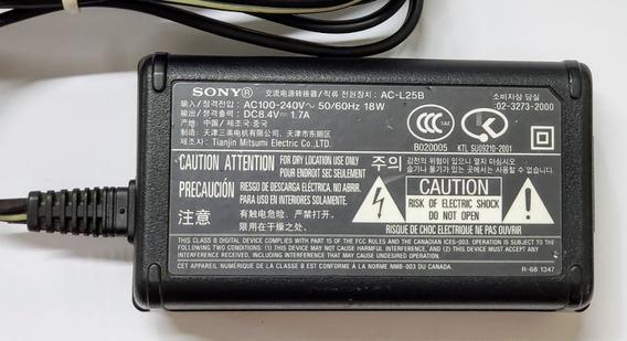 Carregador Sony Ac-l25b Original