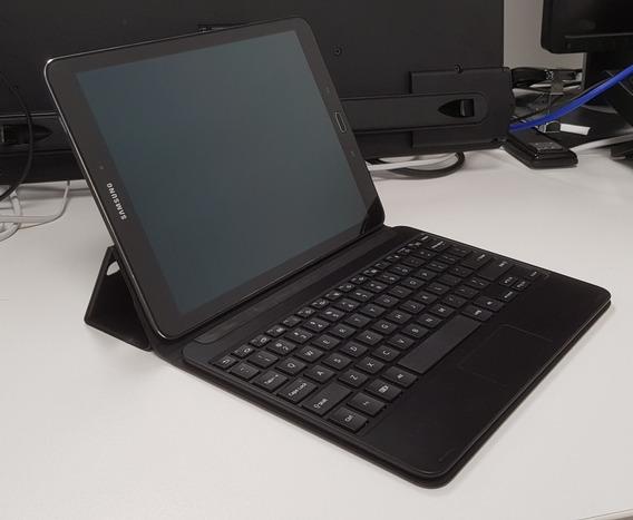 Tablet Samsung 9.7 S2 Preto Sm-t819y Com Capa Teclado Origi