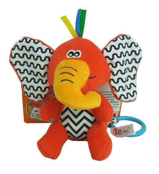 Q Baby Animals Sonajero Vibrador Elefante Qt70038